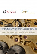 Sustainability of Open Access Services: Phase 3 Report - The Collective Provision of Open Access Resources
