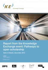 Helsinki conference on Open Scholarship, reports by Nicky Ferguson