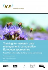Training for Research Data Management: Comparative European Approaches