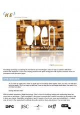 Knowledge Exchange Discussion Paper on Open Knowledge