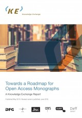 Towards a Roadmap for Open Access Monographs