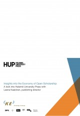 Insights into the Economy of Open Scholarship: A look into Helsinki University Press with Leena Kaakinen, publishing director