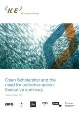 Executive Summary: Open Scholarship and the need for collective action