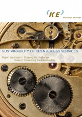 Sustainability of Open Access Services: Phases 1 & 2 - Scoping & Consulting